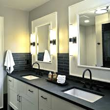 Update Bathroom Lighting Easy Budget Mini Bathroom Makeovers Martha Stewart
