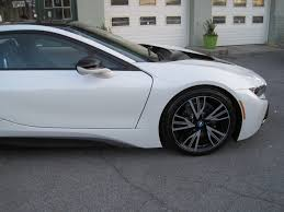 Bmw I8 With Rims - 2014 bmw i8 tera world package crystal white metallic with frozen