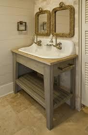 Design Cottage Bathroom Vanity Ideas Gray Washed Bathroom Vanity Design Ideas Throughout Cottage