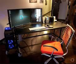 Compact Computer Desk For Imac Photographers U0027 Workspaces Studio U0026 Editing Station Setup