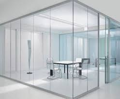wall partition single layer glass wall partition dwel styloffice worldbuild365