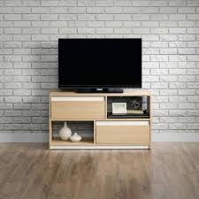 Furniture For Tv Stand Sauder Square 1 Urban Ash Tv Stand For Tvs Up To 47
