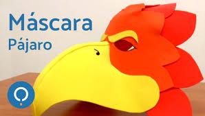 hola como puedo hacer unas alas de pato para nia de 4 máscara pájaro con goma eva youtube