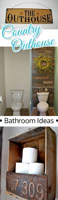 outhouse bathroom ideas country outhouse bathroom decorating ideas involvery community