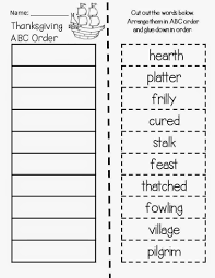 classroom freebies thanksgiving abc order magic tree house