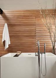 wooden horizontal bathroom wall paneling decorative bathroom