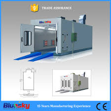 Spray Booth Ventilation System Ce Approved Electrical Heating Spray Baking Booth China Electrical
