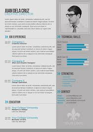 resume templates modern gallery of free modern and simple resume cv psd template