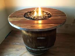 wine barrel fire table barrel fire pit electromagnetiqueprotection com