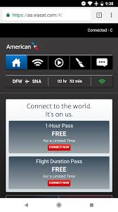 american airlines free wifi american airlines wifi portal changing heads up for tmo one