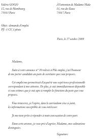 modele lettre de motivation femme de chambre lettre de motivation pour un emploi lettre de motivation pour une
