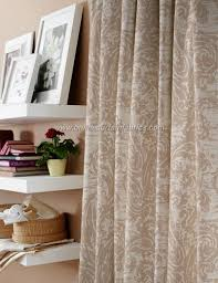 curtain express cologne curtain fabric in colour taupe 04