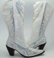 wedding shoes size 11 women s white sequined cowboy boots crystalized evening wedding