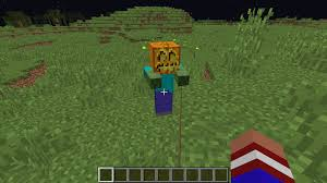 zombie pumpkin head discussion minecraft java edition