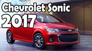 2017 chevrolet sonic six speed automatic or manual transmission