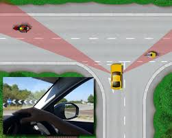 Driving Blind Spot Check A Pillar Blind Spots U2013 Driving Test Tips