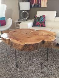 best 25 tree trunk table ideas on pinterest stump coffee