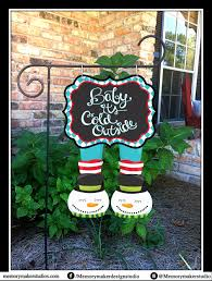 Christmas Outdoor Decorations B Q by Winter Garden Flag Christmas Yard Flag Snowman Garden Flag