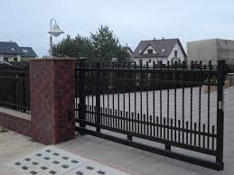 18 bram galeria wykonanych ogrodze蜆 metalowych rant bramy