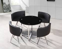 Hideaway Dining Table Chairs Folding Leaf Dining Table Dining - Dining room table with hidden chairs
