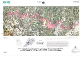 40 Meters To Feet Usgs Scientific Investigations Map 3189 Flood Inundation Maps For