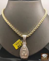 byzantine gold necklace images Wholesale 10k 30 mens yellow gold miami cuban chain 10k 1 10ct jpg