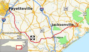 Map Of Wilmington Nc North Carolina Highway 53 Wikipedia