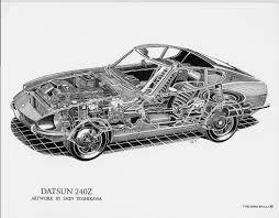 nissan 240sx drawing kai art international nissan 300zx twin turbo drawing