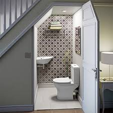 edwardian bathroom ideas small stairs toilet newly built with style in mind