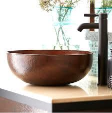kraus kcv 141 white round ceramic bathroom sink vessel sinks