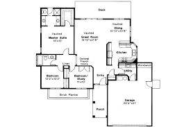 ranch house plans easton 10 133 associated designs