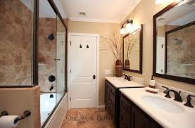 galley bathroom design ideas the warmth and opulence of tuscany doesn t to the bank
