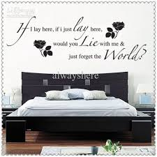 bedroom wall quotes creative and inspiration wall quotes for bedroom themescompany