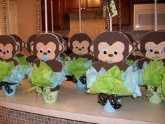 monkey decorations for baby shower baby shower decorations monkey theme boy design decoration