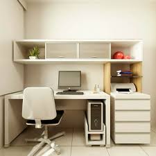 designing a small home office minimalist desk design ideas