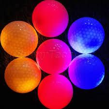light up golf balls surlyn led flashing light up golf balls for night golfing tracer