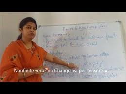 best explanation on finite and non finite verbs youtube