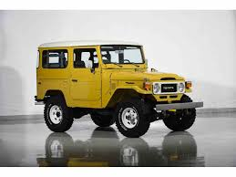 land cruiser fj40 1981 toyota land cruiser fj40 for sale classiccars com cc 1041521