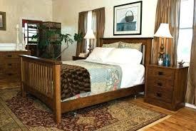 Oak Headboard King Mission Style Headboards Mission Style Furniture Bedroom Set