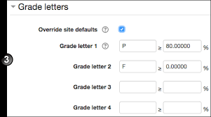 customise the gradebook in moodle unsw teaching staff gateway
