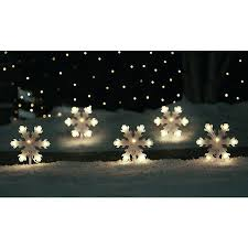 lowes christmas light exchange shop sienna 5 count 35 light clear shimmering christmas snowflake