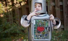 robot halloween costume inhabitots green halloween contest
