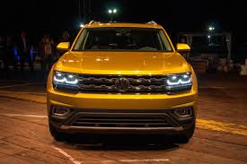 2018 volkswagen atlas review first impressions news cars com