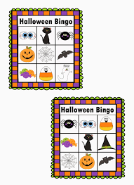 Printable Halloween Bingo Cards by Casual Fridays Teaching