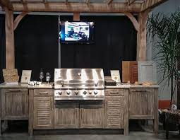 Outdoor Kitchen Cabinets Polymer Naturekast Pvc Outdoor Cabinets Affordable Outdoor Kitchens