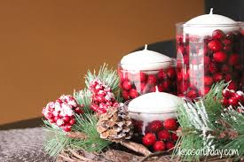 bedroom furniture homemade christmas table decoration with