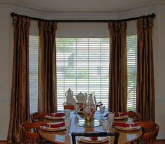 perfect dining room bay window curtain ideas for inspiration to