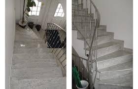 treppen aus granit kashmir white aus dem granit sortiment wieland naturstein