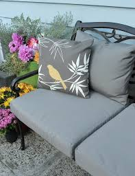 Reupholster Patio Furniture Cushions Learn How To Easily Recover Your Outdoor Patio Cushions Tub