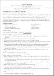 Hr Objective In Resume Sample Hr Resumes For Hr Executive Old Version Old Version Old
